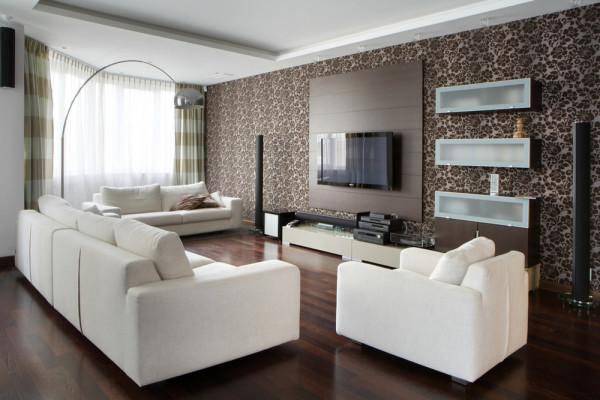 Дизайн гостиной 25 кв.м