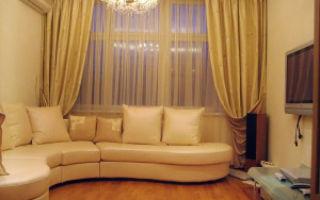 Как подобрать шторы в гостиную?