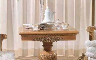 Маленькие столики для гостиной — выбираем сами