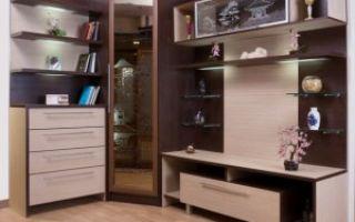 Стильные стенки в гостиную — подробный обзор