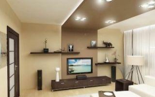 Дизайн потолков в гостиной — секреты мастеров интерьера
