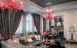 Шикарные интерьеры гостиной комнаты