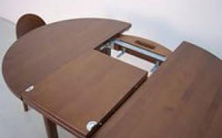 Как выбрать раздвижной стол для гостиной?