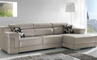 Кожаный диван для гостиной — обзор