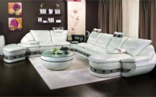 Модульный диван в гостиную комнату — рекомендации