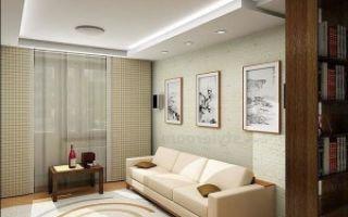 Как сделать ремонт гостиной комнаты в хрущевке?