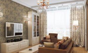 Дизайн гостиной комнаты 5 на 5 метров