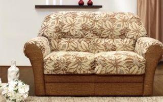 Маленькие диванчики для гостиной — обзор небольшой мебели