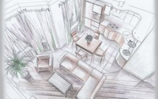 Дизайн проект интерьера гостиной своими руками