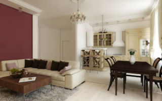 Интерьер и дизайн кухни-гостиной 15 кв м