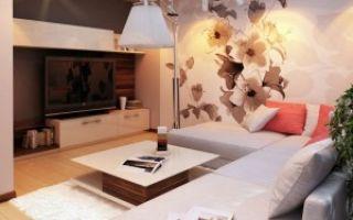 Современные обои в гостиную — новые тенденции в интерьере