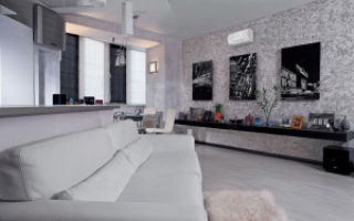 Дизайн обоев для гостиной — советы и фото
