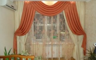 Идеи для штор в гостиной комнате