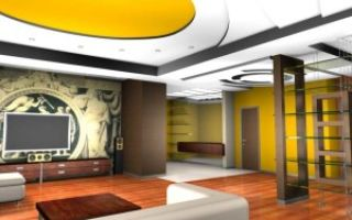 Дизайн интерьера проходной гостиной