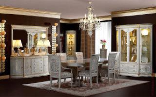 Мебель из Испании в гостиной комнате