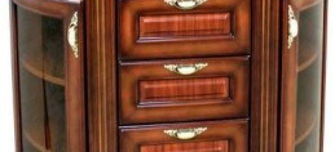 Как выбрать угловой комод в комнату для гостей?