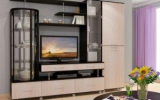 Стенки-горки в гостиную — правила выбора