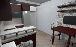Дизайн кухни-гостиной 12 кв метров