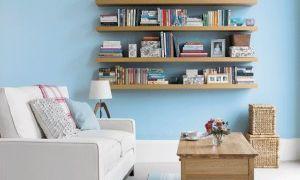Навесные полки в комнату для гостей — советы