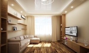 Дизайн интерьера гостиной 19 кв м