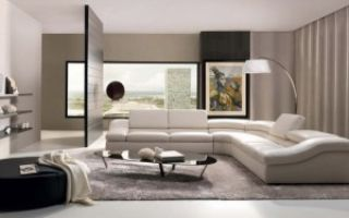 формление угла гостиной комнаты