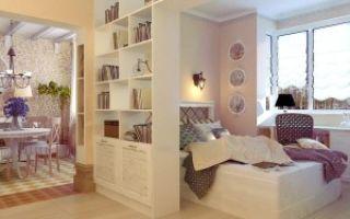 Идеи для интерьера гостиной-спальни