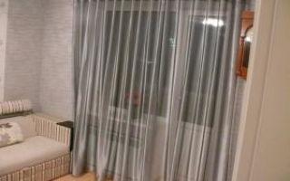 Шторы на люверсах для гостиной — обзор