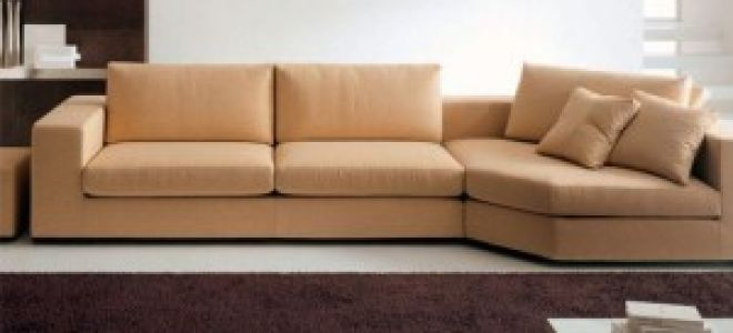 Современный диван в гостиную — обустройство комнаты