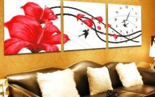 Картины для гостиной