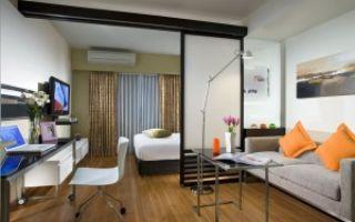 Гостиная-спальня 20 кв м