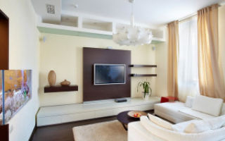 Дизайн и интерьер гостиной 18 кв м — оформление комнаты