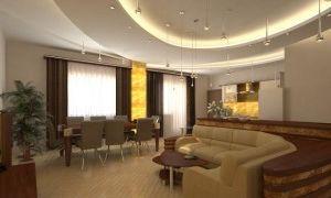 Интерьер гостиной 25 метров
