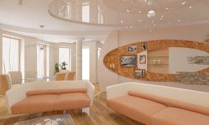 Гостиная в теплых тонах — секреты дизайна