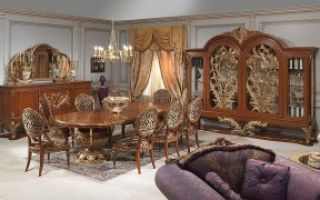 Элитная и эксклюзивная мебель в гостиной