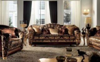 Самые шикарные и дорогие диваны в гостиной
