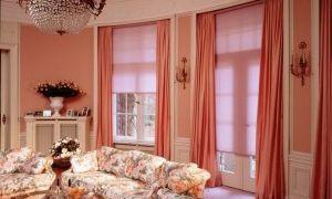 Интересный интерьер окна в гостиной — как сделать?