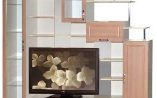 Маленькие стенки-горки для гостиной — как выбрать?