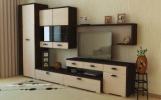 Модульные стенки в гостиную — советы