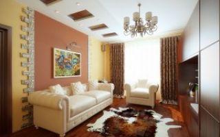Дизайн и интерьер гостиной в квартире