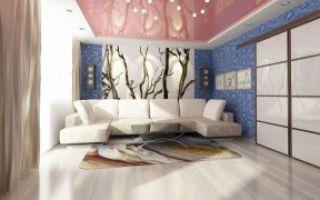 Как оформить гостиную комнату обоями?