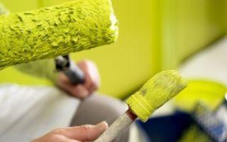 Как красить стены в комнате для гостей?
