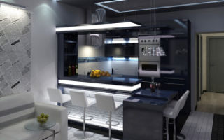 Планировка кухни-гостиной 16 метров