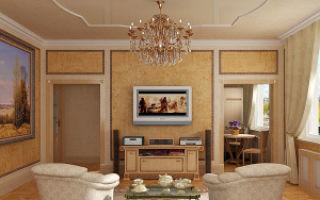 Подбираем современные люстры для гостиной