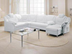 Белая мебель в гостиную — тонкости выбора