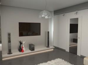 Стиль хай тек в интерьере гостиной комнаты