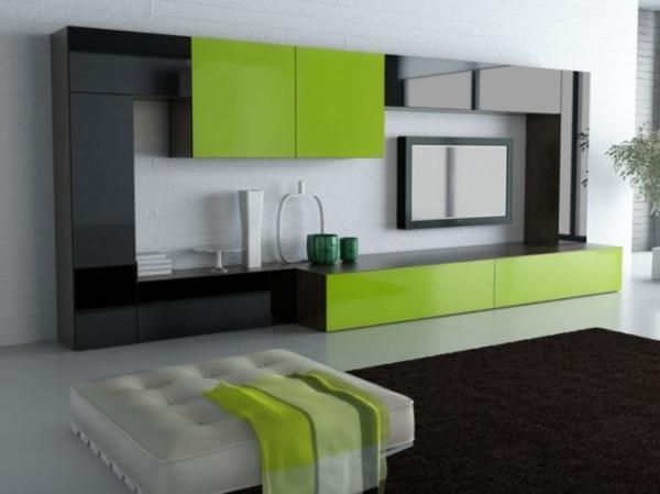 корпусная мебель в гостиной