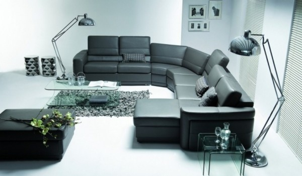 угловой диван для гостиной