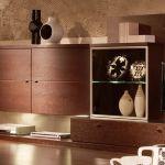Навесные настенные шкафы для гостиной - обзор