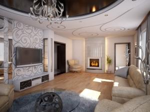 дизайн современной гостиной