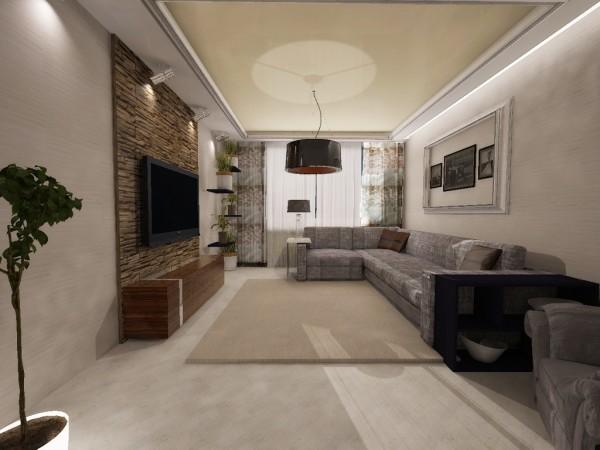 интерьер гостиной 20 квадратов